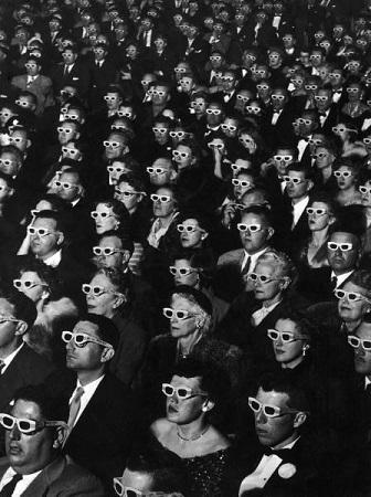3D Glasses Audience
