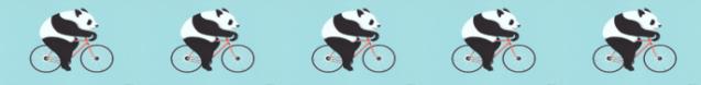 Pandas on Bikes